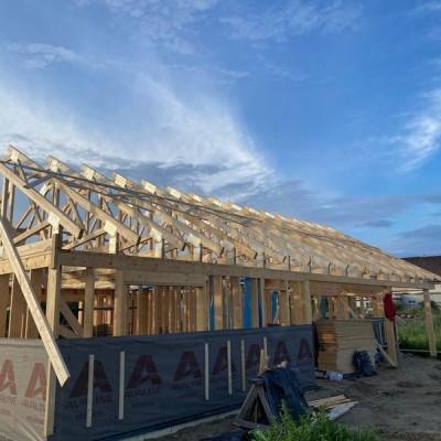 konstrukcja dachu drewnianego