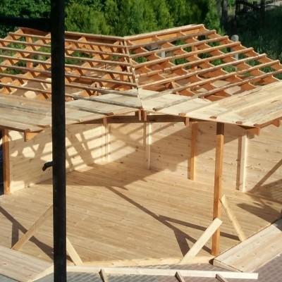 konstrukcja domu drewnianego